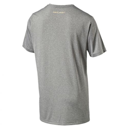 Puma T-shirt Ub Graphic Tee   Usain Bolt medium gray heather Tifoshop
