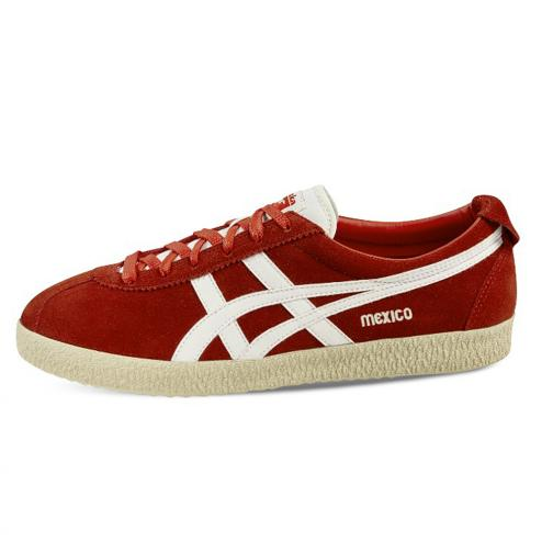 Onitsuka Tiger Shoes Mexico Delegation  Unisex Red