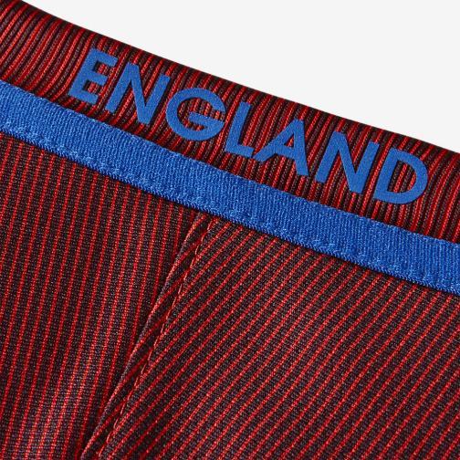 Nike Maglia Gara Away Inghilterra   16/18 Rosso Tifoshop