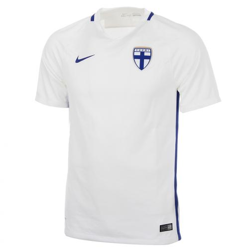Nike Jersey Home & Away Finland   16/18 WHITE/HYPER BLUE