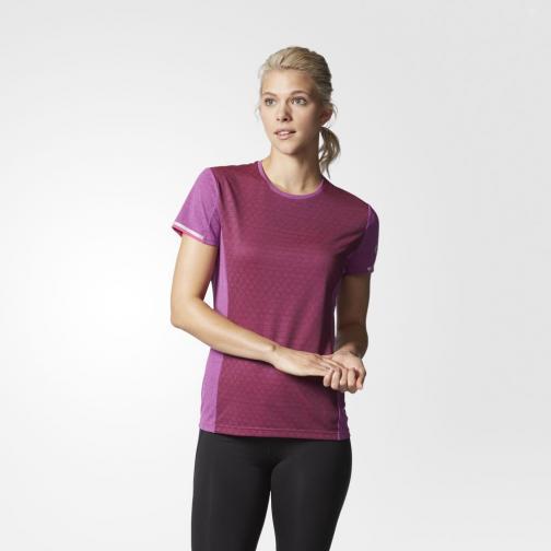 Adidas T-shirt Supernova Climachill  Donna Fucsia