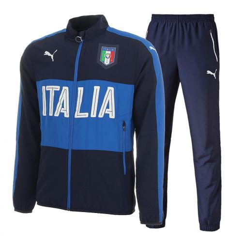 Tuta Woven Italia Blu FIGC Store