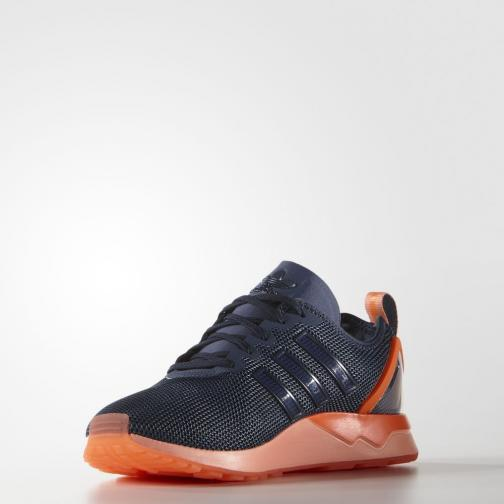 Adidas Originals Chaussures Zx Flux Racer mineral blue Tifoshop