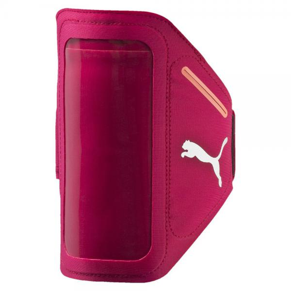Puma Sweat Band Pr I Sport Phone Armband rose red-fluro peach