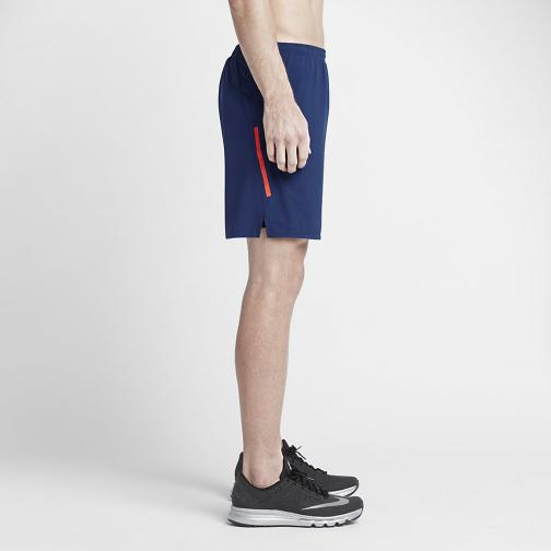 Nike Short Pants 18 Cm Phenom 2-in-1 DEEP ROYAL BLUE/OBSIDIAN/REFLECTIVE SILV Tifoshop
