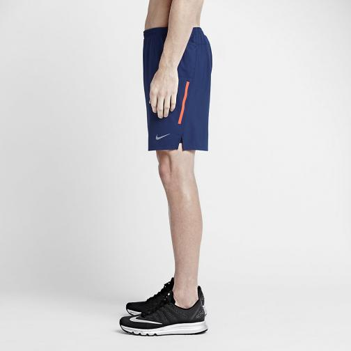 Nike Short 18 Cm Phenom 2-in-1 DEEP ROYAL BLUE/OBSIDIAN/REFLECTIVE SILV Tifoshop