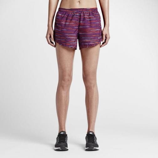 Nike Short Pants Equilibrium Modern Tempo  Woman COSMIC PURPLE/BLACK/REFLECTIVE SILV