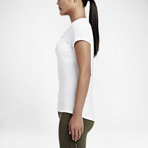 Nike T-shirt Nike Dri-fit Contour Short-sleeve  Woman