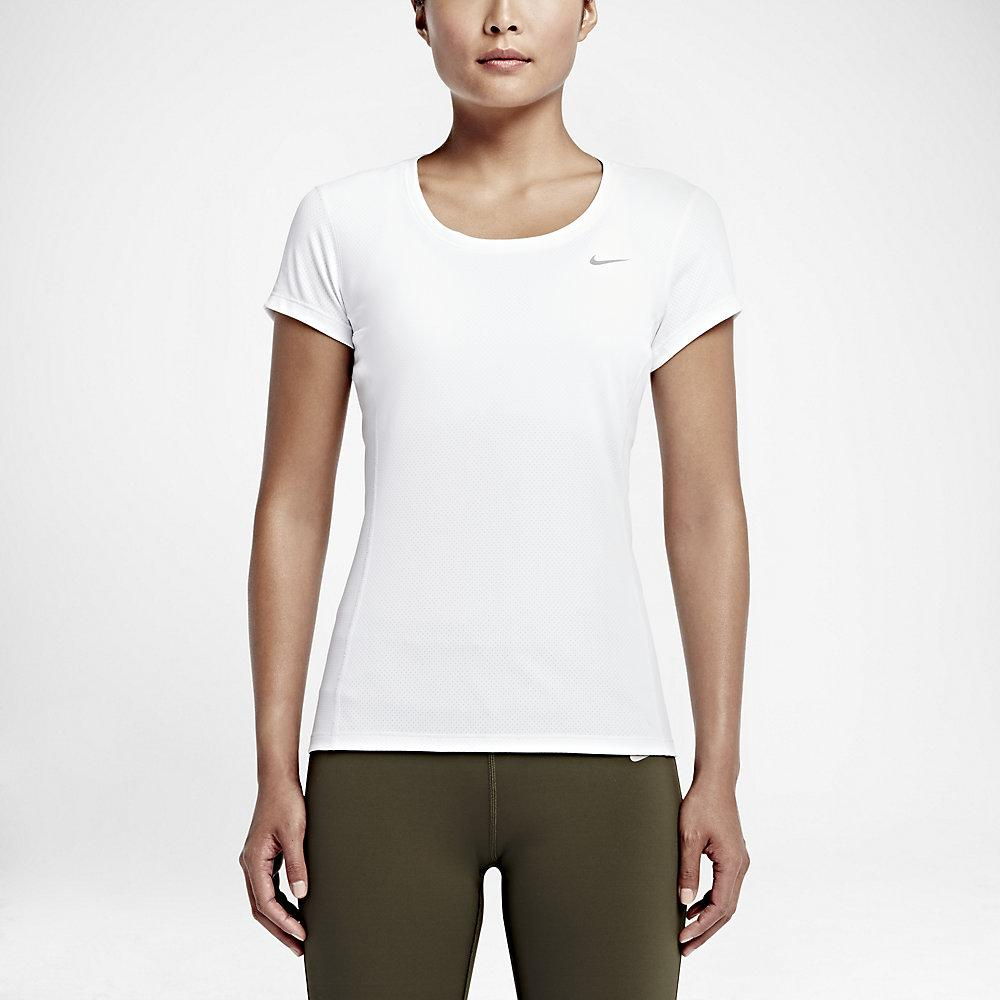Nike T-shirt Nike Dri-fit Contour Short-sleeve  Damenmode