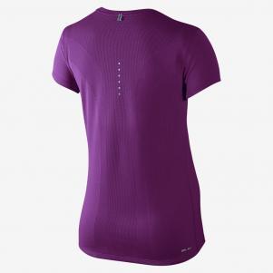 Nike T-shirt Nike Dri-fit Contour Short-sleeve  Femmes
