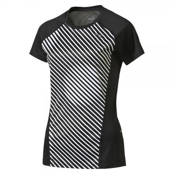 Puma T-shirt Graphic S/s Tee W  Woman black