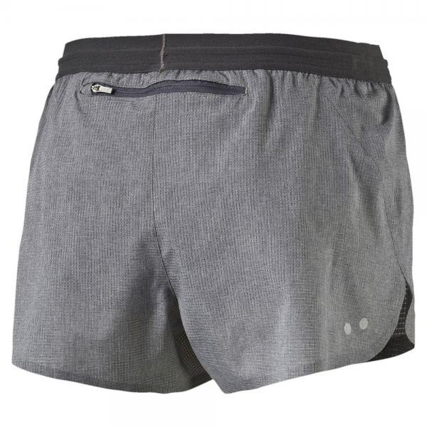 Puma Shorts Faster Than You Short W  Femmes medium gray heather Tifoshop