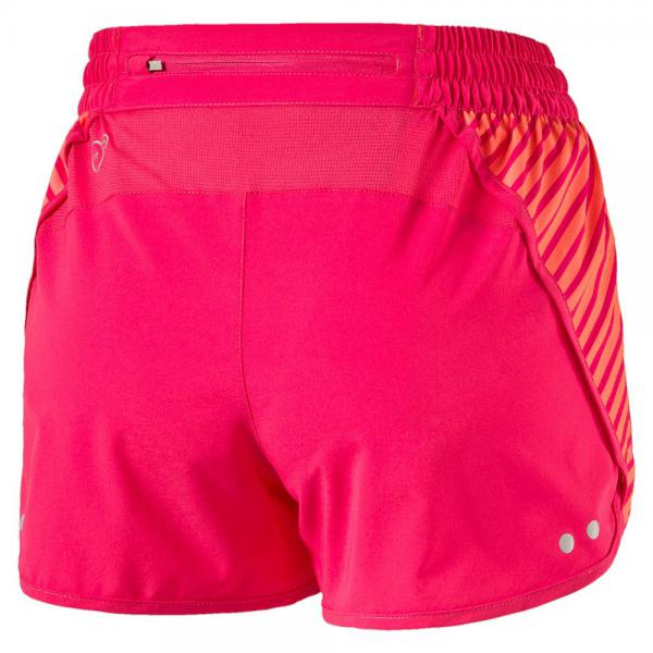Puma Kurze Hose Blast 3'' Short W  Damenmode fluro peach-rose red Tifoshop