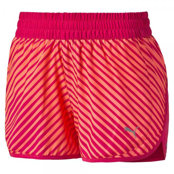 Puma Kurze Hose Blast 3'' Short W  Damenmode fluro peach-rose red