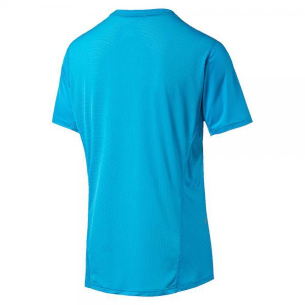 Puma T-shirt Run S/s Tee Azzurro Tifoshop