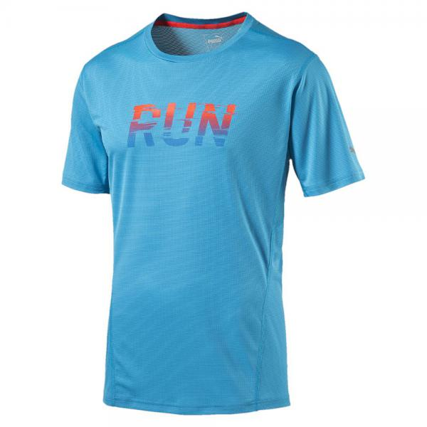 Puma T-shirt Run S/s Tee atomic blue