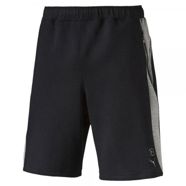 Puma Short Pants Ub Evostripe Shorts   Usain Bolt black