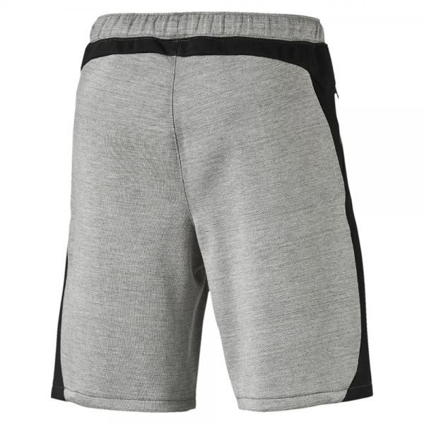 Puma Short Ub Evostripe Shorts   Usain Bolt medium gray heather Tifoshop