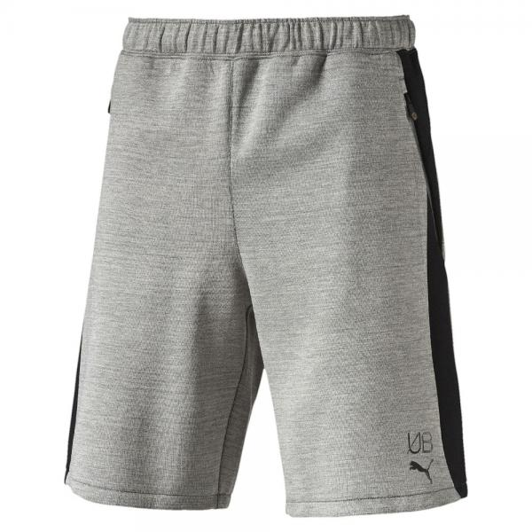 Puma Short Ub Evostripe Shorts   Usain Bolt medium gray heather