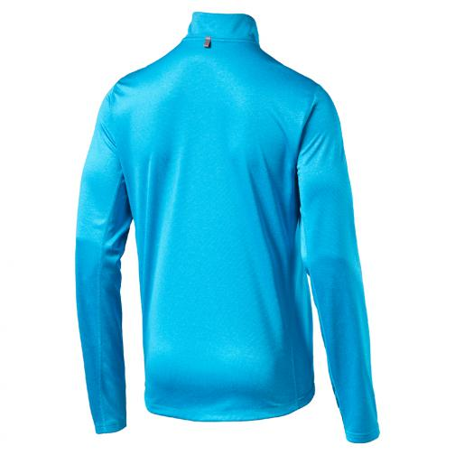Puma Trikot Pe_running_ls Hz Tee atomic blue heather Tifoshop