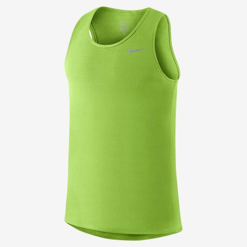 Nike Unterhemd Dri-fit Contour ACTION GREEN/REFLECTIVE SILV