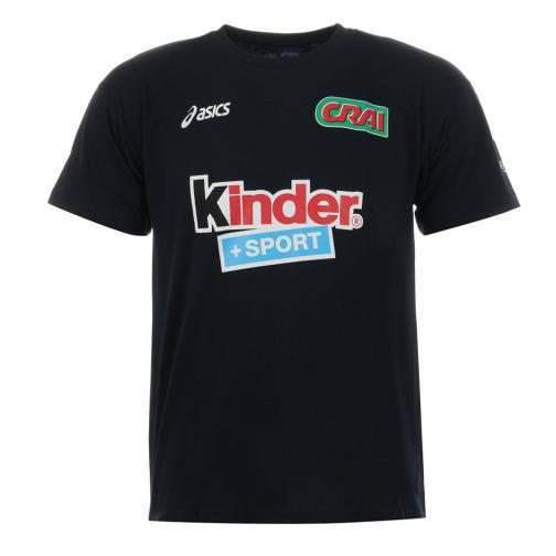 Asics T-shirt  Juniormode Blue Navy