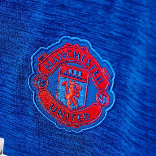 Adidas Maglia Gara Away Manchester United   16/17 Blu Rosso Tifoshop