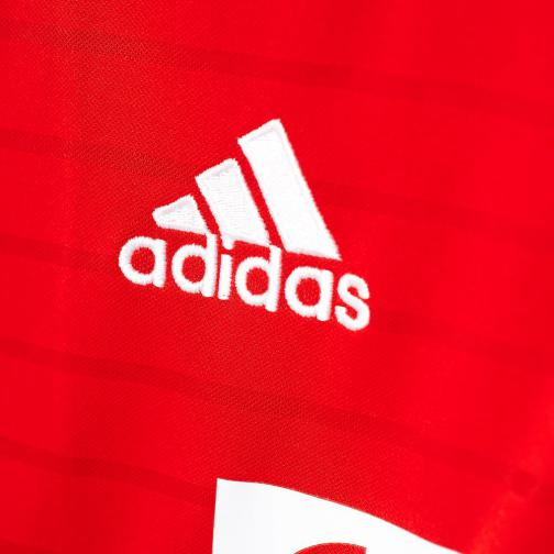 Adidas Shirt Home Bayern Monaco   16/17 Fcb True Red/White Tifoshop