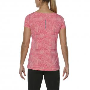 Asics T-shirt Fuzex printed Ss Top  Donna