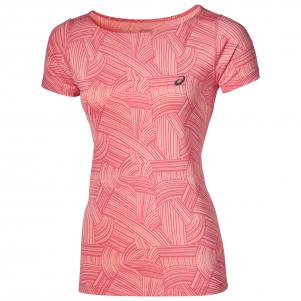 Asics T-shirt Fuzex printed Ss Top  Woman