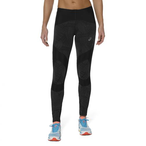 Asics Pantalone Lb Calf Tight  Donna Nero
