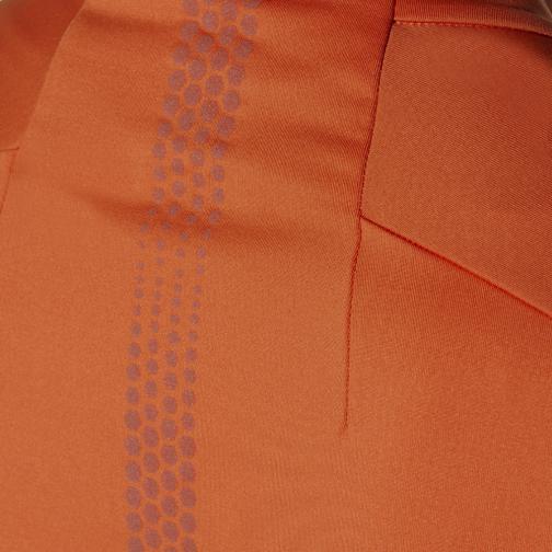 Asics Maglia Lite-show Ls 1/2 Zip Arancione Tifoshop