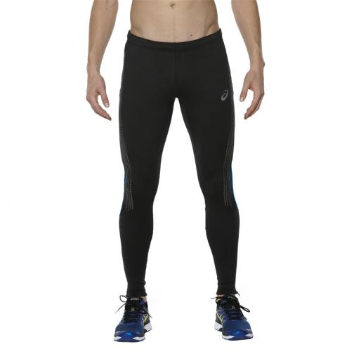 Asics Pant Lite-show Winter Tight PERFORMANCE BLACK/POSEIDON Tifoshop