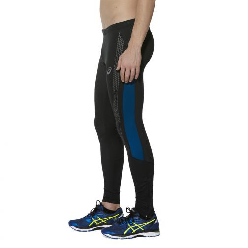 Asics Pant Lite-show Winter Tight PERFORMANCE BLACK/POSEIDON