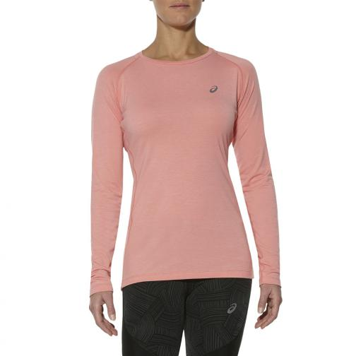 Asics Sweater Elite Baselayer  Woman PEACH MELBA