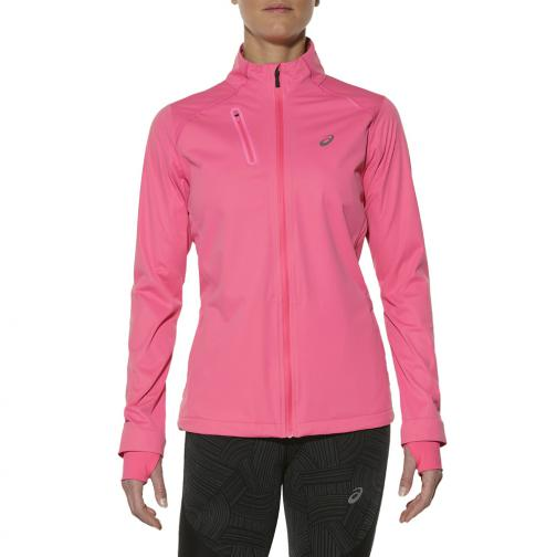Asics Jacket Accelerate Jacket  Woman CAMELION ROSE