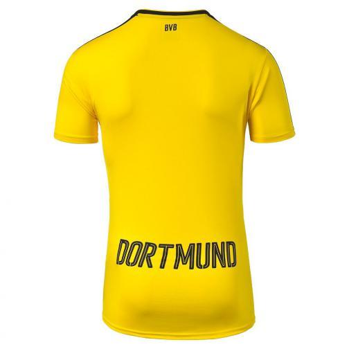 Puma Shirt Home Borussia Dortmund Juniormode  16/17 cyber yellow-black Tifoshop