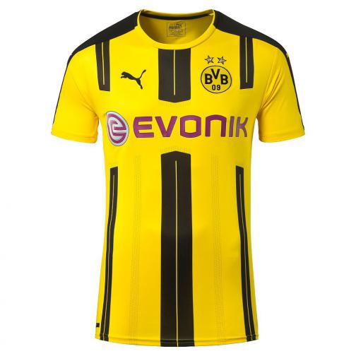Puma Shirt Home Borussia Dortmund Juniormode  16/17 cyber yellow-black