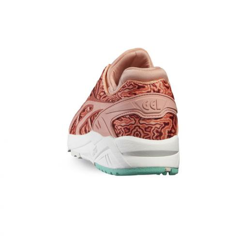 Asics Tiger Chaussures Gel-kayano Trainer Evo  Femmes HOT CORAL / PEACH MELBA Tifoshop