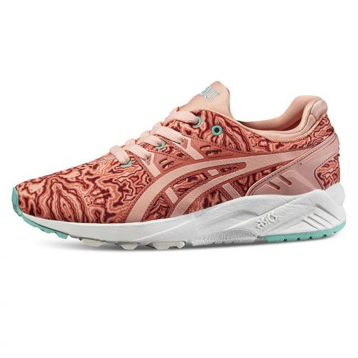 Asics Tiger Chaussures Gel-kayano Trainer Evo  Femmes HOT CORAL / PEACH MELBA