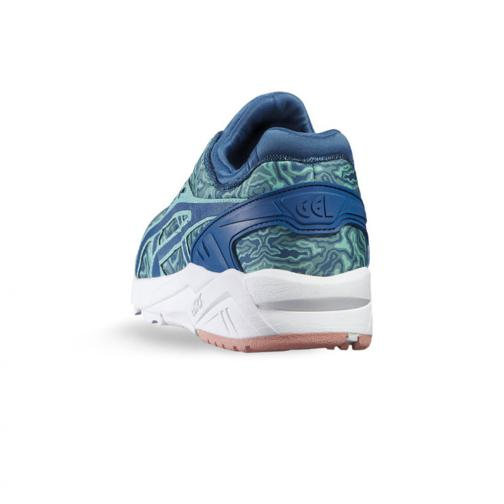 Asics Tiger Schuhe Gel-kayano Trainer Evo  Damenmode KING FISHER / SEA PORT Tifoshop