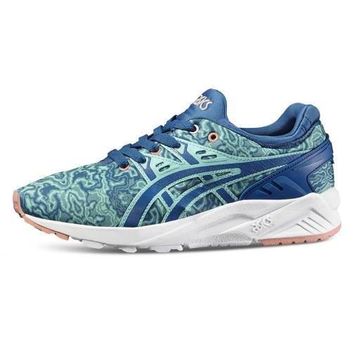 Asics Tiger Shoes Gel-kayano Trainer Evo  Woman KING FISHER / SEA PORT