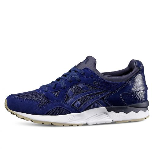 Asics Tiger Shoes Gel-lyte V  Unisex BLUE PRINT / BLUE PRINT