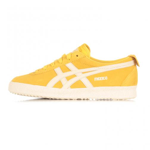 Onitsuka Tiger Shoes Mexico Delegation  Unisex SULPHUR / OFF-WHITE