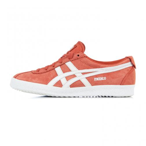 Onitsuka Tiger Chaussures Mexico Delegation  Unisex CINNAMON / WHITE