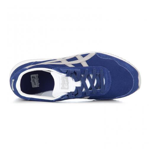 Onitsuka Tiger Chaussures Dualio  Unisex BLUE PRINT / LIGHT GREY Tifoshop