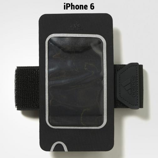 Adidas Bandelette Run Medium Armpocket Cover Iphone6 black/black/silver met