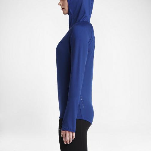 Nike Sweater Element  Woman DEEP ROYAL BLUE Tifoshop