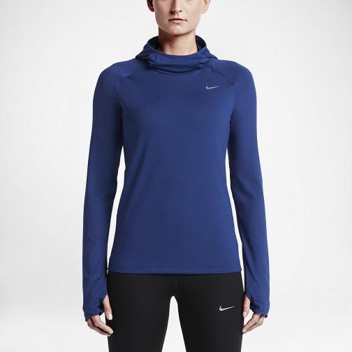 Nike Maglia Element  Donna Blu