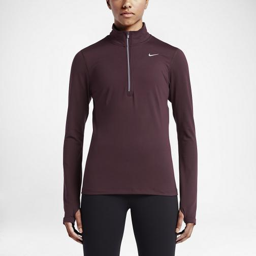 Nike Trikot Element  Damenmode NIGHT MAROON